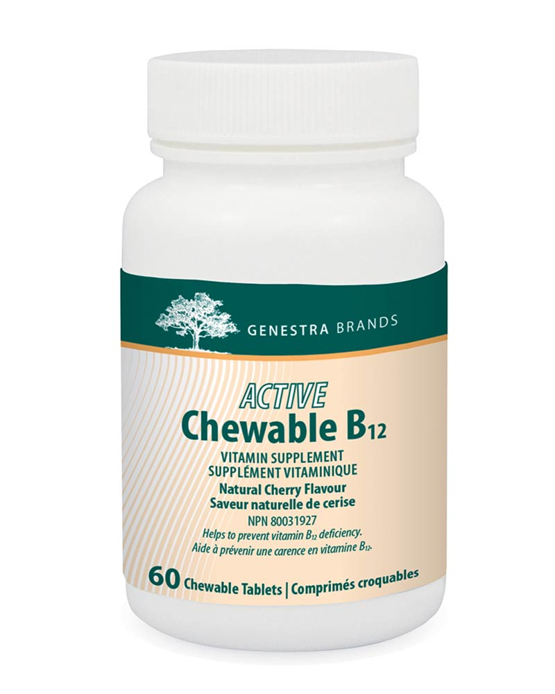 Active Chewable B12 by Genestra Brands sold by Replenish AcuSpa