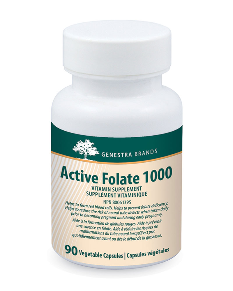 Active Folate 1000 by Genestra Brands sold by Replenish AcuSpa