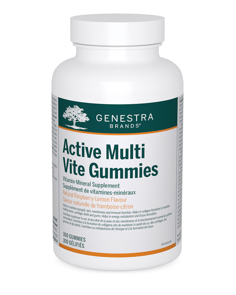 Active Multi Vite Gummies by Genestra Brands sold by Replenish AcuSpa